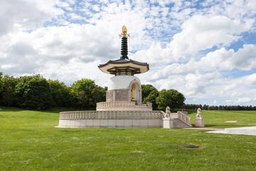 Japanese Buddhist Peace Pagoda, Nippon Myohoji, Milton Keynes.