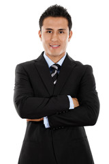 Young Hispanic Businessman