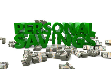 Personal Savings Money Finance Banking