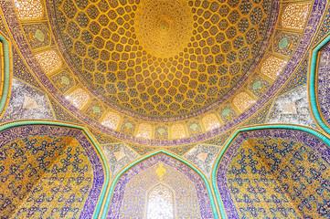 Sheikh Lotfollah Mosque in Naghsh-e Jahan Square, Isfahan, Iran