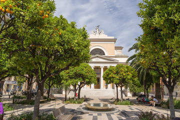 Nice, France. Church of St. John the Baptist - 2