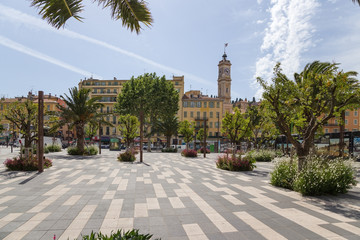 Nice, France. Square
