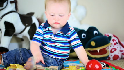 Baby Playing Sequence