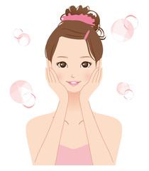 女性 美容 スキンケア