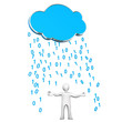 Manikin Cloud Data Rain