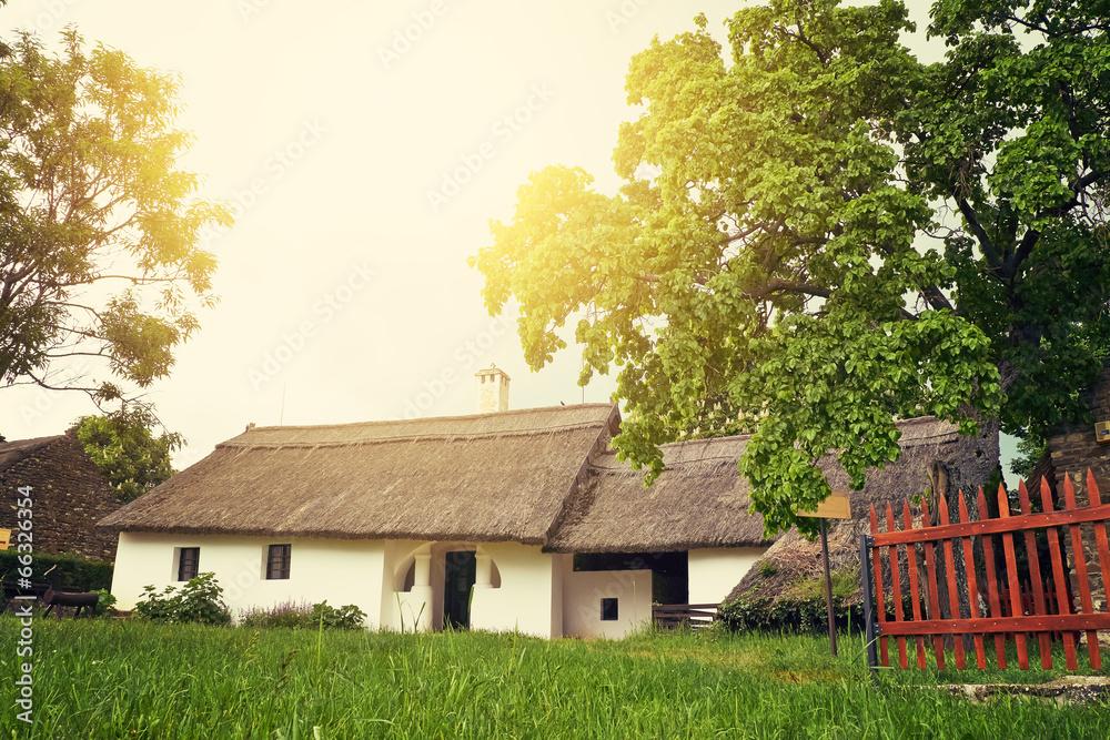 stary wioska zabytkowy - powiększenie