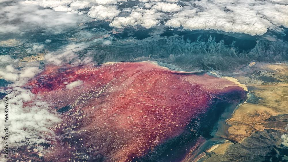jęzioro pejzaż natura - powiększenie