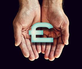 pound icon hands