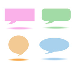 Speech bubbles box