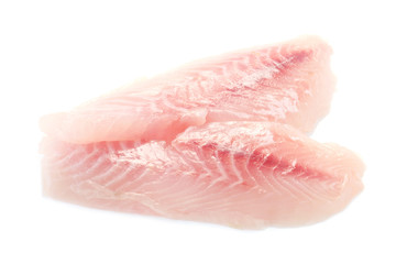 Raw Fillet of Red Snapper