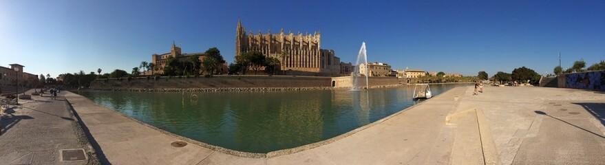 Mallorca Kathedrale, Panoramaaufnahme