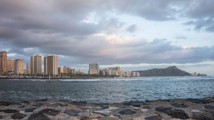 Daimond Head & Waikiki Beach
