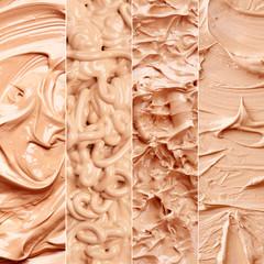Tone foundation texture