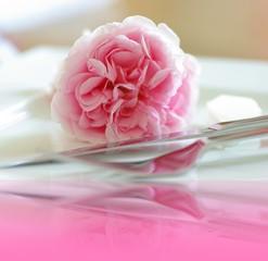 Besteck mit Rosen