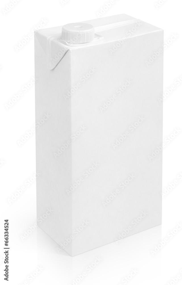 mleko karton paczka - powiększenie
