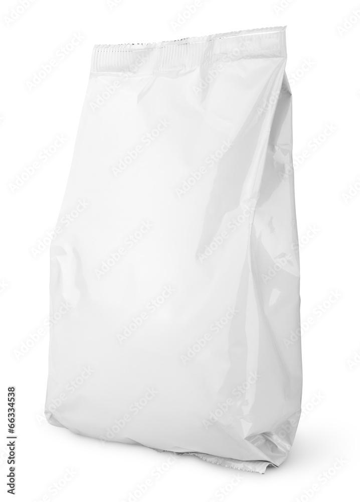 folia paczka biały - powiększenie