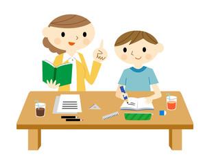 家庭教師と子供