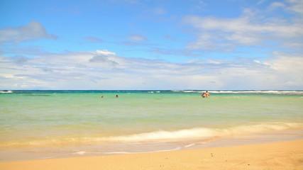 Beach Time Lapse Snorkeling