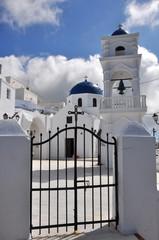 griechisch orthodoxe kirche auf santorin