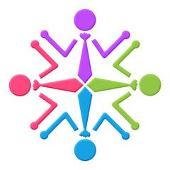 Human Icon Circular