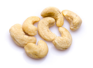 Several cashew nuts