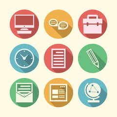 Icons for freelance and business