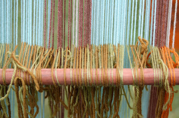 colored wool thesis in ancient textiles weaving loom