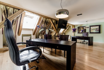 Interior of luxury private office