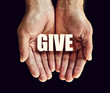 give hands