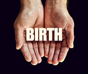 birth hands