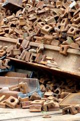 railway rails scrap 5