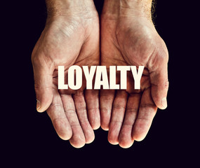 loyalty hands