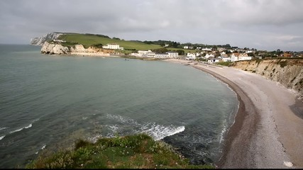 Freshwater Bay Isle of Wight a tourist town