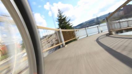 Biking POV Waterfront