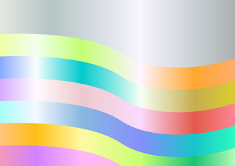 abstract colorful background with wave shapes