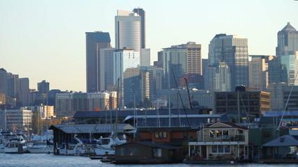 Boat Ride Cityscape & Marina