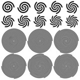 Spirals Pattern Set