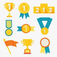 Award icons