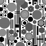 Fototapeta Abstrakcyjne tło w geometryczne wzory