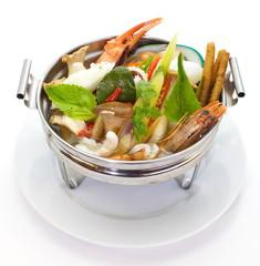 seafood and lemon grass soup