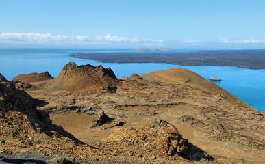 Volcanic lansdscape in Bartolome island