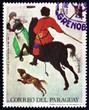 Постер, плакат: Postage stamp Paraguay 1968 Winter Scene by Pieter Brueghel