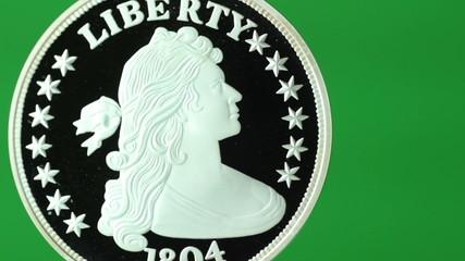 silver dollar spin transition