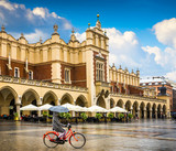 Krakow - Poland's historic center, a city with ancient - 66353987