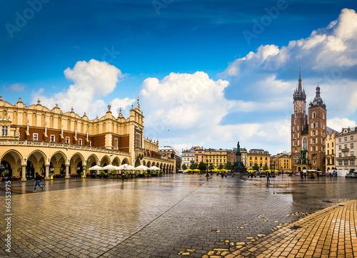 Krakow - Poland's historic center, a city with ancient