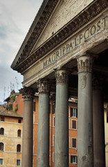 Pantheon, Roman Catholic church, Rome, Italy
