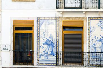 Portuguese facade