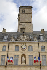 City Hall in the Palace of Dukes and Estates of Burgundy. Dijon,