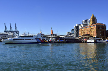 Auckland Ferry Terminal - New Zealand