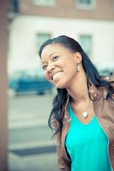 beautiful african young woman